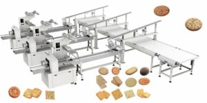 biscuit automated packing line