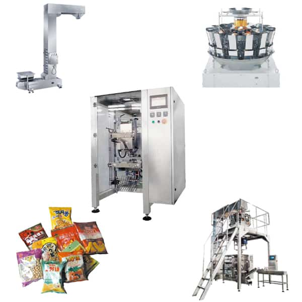 Granual Chips Packing Machine